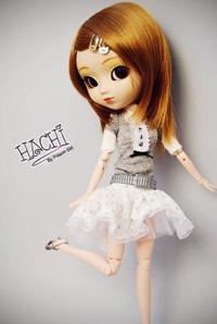 hachi doll